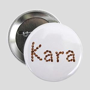 Kara Coffee Beans Button