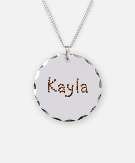 Kayla Coffee Beans Necklace