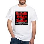 Rough Edge Radio / RoughEdge.com White T-Shirt