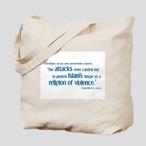 Attack for Peace! Tote Bag