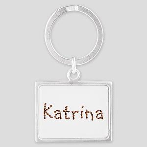 Katrina Coffee Beans Landscape Keychain