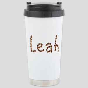 Leah Coffee Beans Stainless Steel Travel Mug