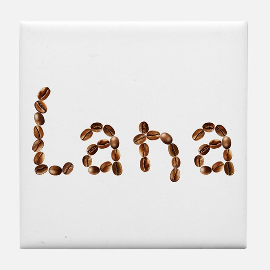 Lana Coffee Beans Tile Coaster