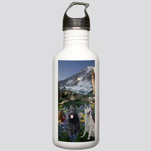 German Shepherd Countr Stainless Water Bottle 1.0L
