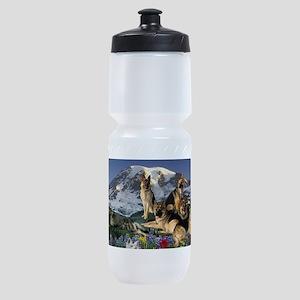 German Shepherd Country Sports Bottle