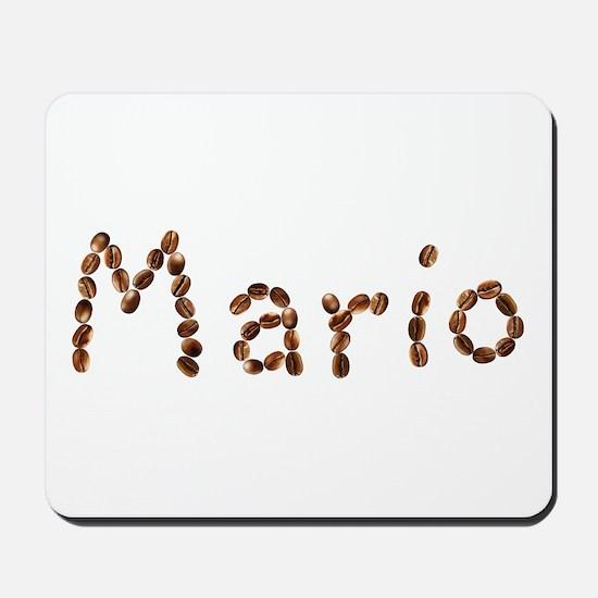 Mario Coffee Beans Mousepad