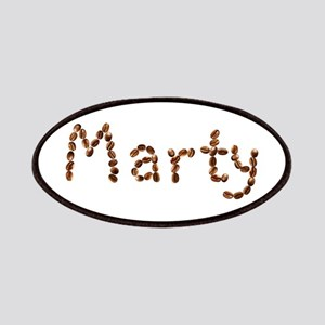 Marty Coffee Beans Patch