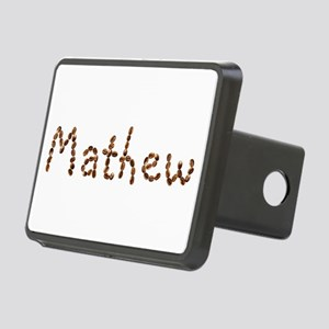 Mathew Coffee Beans Rectangular Hitch Cover