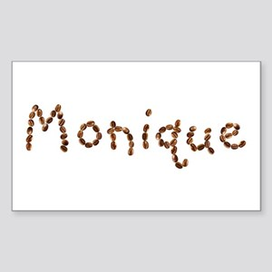 Girls Name Monique Stickers Cafepress
