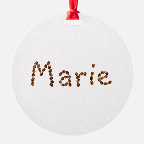 Marie Coffee Beans Ornament