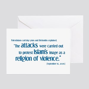 Attack for Peace! Greeting Cards (Pk of 10)