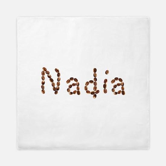 Nadia Coffee Beans Queen Duvet