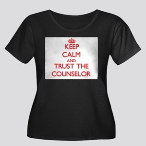 Keep Calm and Trust the Counselor Plus Size T-Shir