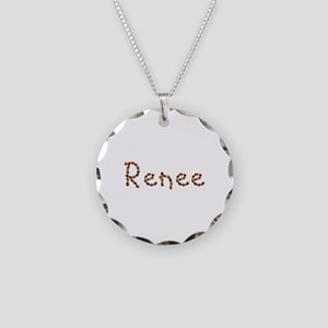 Renee Coffee Beans Necklace Circle Charm