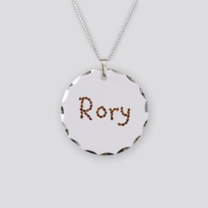Rory Coffee Beans Necklace Circle Charm