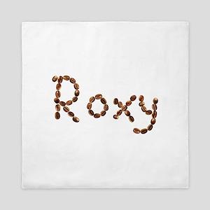 Roxy Coffee Beans Queen Duvet