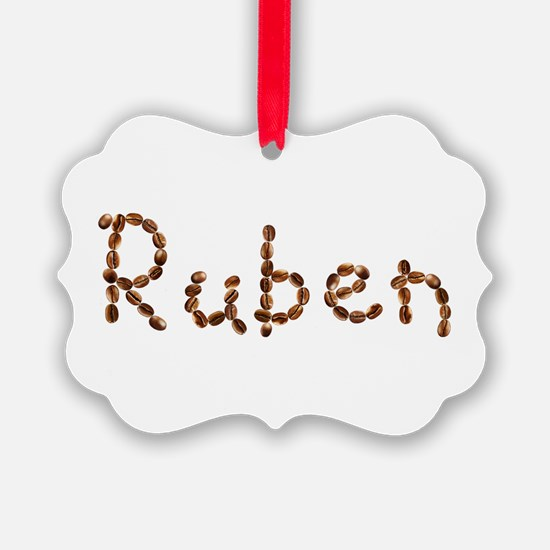 Ruben Coffee Beans Ornament