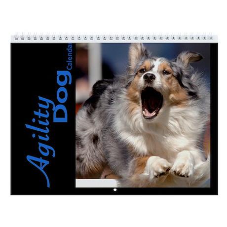 Agility Dog Wall Calendar