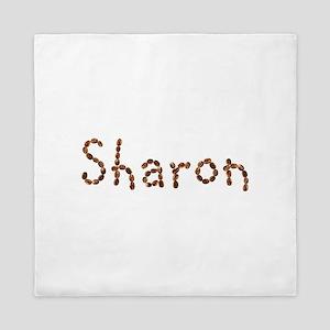 Sharon Coffee Beans Queen Duvet