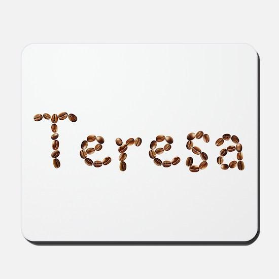 Teresa Coffee Beans Mousepad