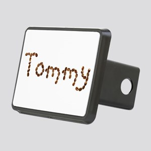 Tommy Coffee Beans Rectangular Hitch Cover