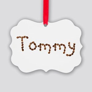 Tommy Coffee Beans Picture Ornament