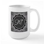 Luna Lace Monogram Large Mug