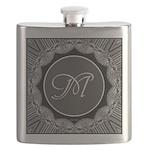 Luna Lace Monogram Flask