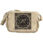 Luna Lace Monogram Messenger Bag