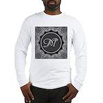 Luna Lace Monogram Long Sleeve T-Shirt