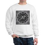 Luna Lace Monogram Sweatshirt