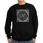 Luna Lace Monogram Sweatshirt (dark)