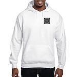Luna Lace Monogram Hooded Sweatshirt