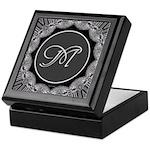 Luna Lace Monogram Keepsake Box