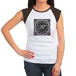 Luna Lace Monogram Women's Cap Sleeve T-Shirt