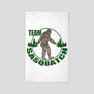 Team Sasquatch 3'x5' Area Rug