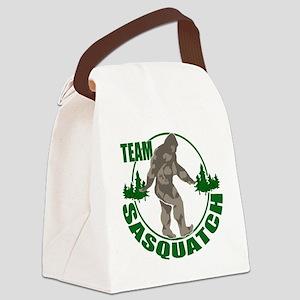 Team Sasquatch Canvas Lunch Bag