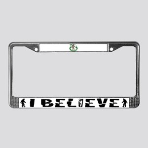 Team Sasquatch License Plate Frame