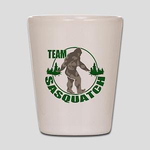 Team Sasquatch Shot Glass