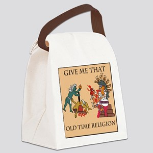 human sacrifice Canvas Lunch Bag