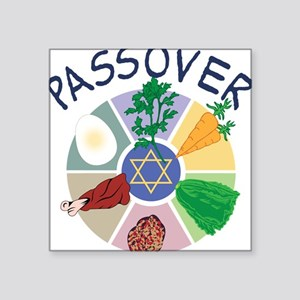 "Passover Square Sticker 3"" x 3"""