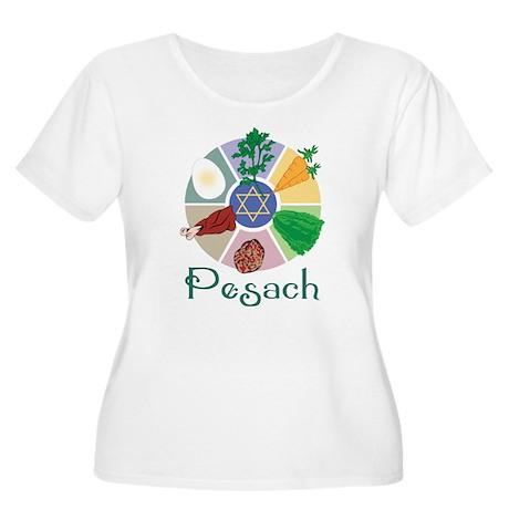 Pesach Women's Plus Size Scoop Neck T-Shirt