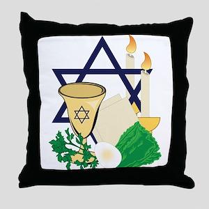 Jewish Passover Throw Pillow