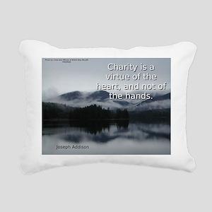 Charity Is A Virtue - Joseph Addison Rectangular C