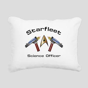 Science Officer Rectangular Canvas Pillow
