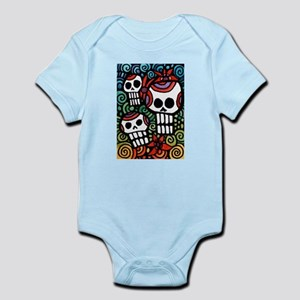 Day of the Dead Skulls Body Suit