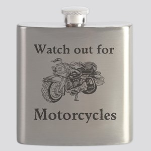 Watch out for motorcycles Flask