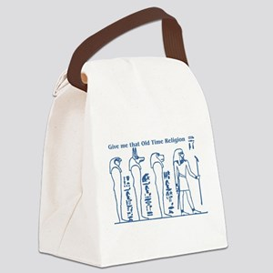 Gods of the underworld blue Canvas Lunch Bag