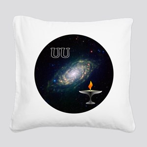 uu galaxy 2 Square Canvas Pillow