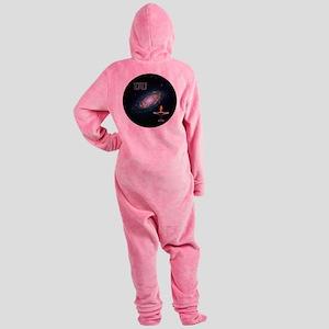 uu galaxy 2 Footed Pajamas